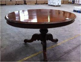 Tavolo Ovale in Mogano