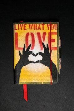 Notebook - Hands heart