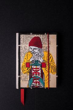 Notebook - Longboard girl