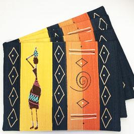 Placemat Masai Lady Ochre