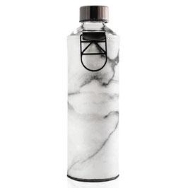 Bottiglia in vetro con copertura in ecopelle Stone