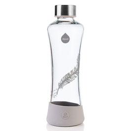 Bottiglia in vetro Piuma con copertura bassa silicone
