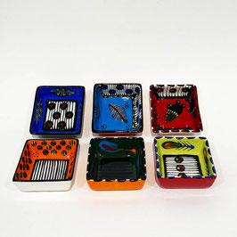 Piattini Quadrati Serie Colore