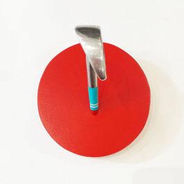 Appendiabiti rosso - Ferro 6 Mac Gregor