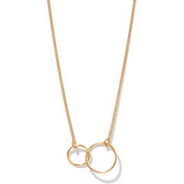 Linked Circle, Placcatura Oro