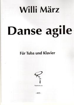 Danse agile für Tuba und Klavier, von Willi März