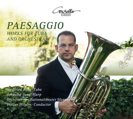 Solo-CD Siegfried Jung Paesaggio Works for Tuba and Orchestra
