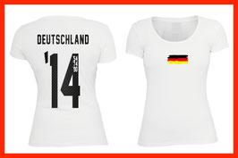 WM Shirt - Titel Jahre - Flag