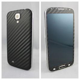 Samsung Galaxy S4 Carbonfolie Schwarz