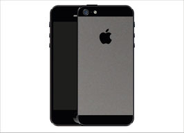 iPhone 5 GRAU Matt Folie