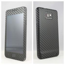 Samsung S2 Carbon Folie Schwarz