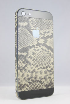 iPhone 5 Snakeskin Folie Boa Optik