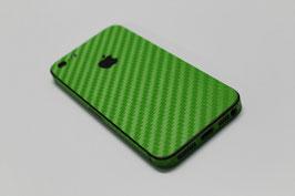 iPhone 5 Carbon Folie Grün