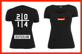 WM Shirt - 2014 - Flag (Frauen)