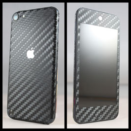 iPod Touch 5G. Carbon Folie Schwarz