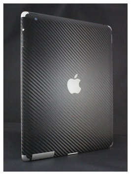 iPad 4 -Lightning- Carbon Folie schwarz