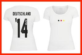 WM Shirt - Titel Jahre - Stars (Frauen)