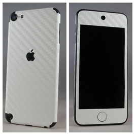 iPod Touch 5G. Carbon Folie Weiss