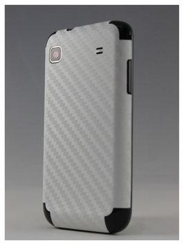 Samsung S1 Carbon Folie Weiß