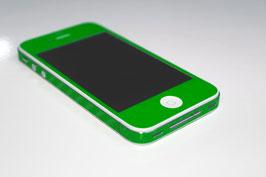 iPhone 4 / 4s - Carbonfolie Grün
