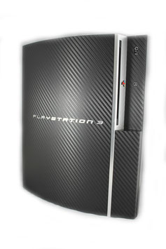 Ps 3 Carbon Folie rot