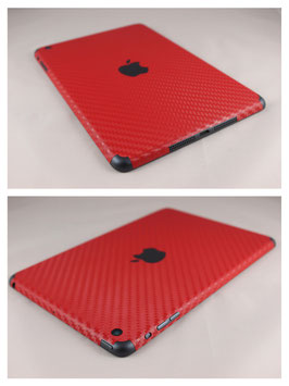 iPad Mini Carbon Folie Rot