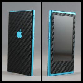 iPod Nano 7G. Carbon Folie Schwarz