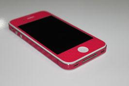 iPhone 4 / 4s - Carbonfolie pink
