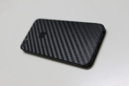 iPhone 5 Carbon Folie Schwarz