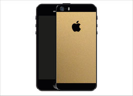 iPhone 5s Gold Matt Folie
