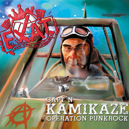 CD Capt'n Kamikaze - Operation Punkrock