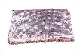 Clutch Pailetten rosa