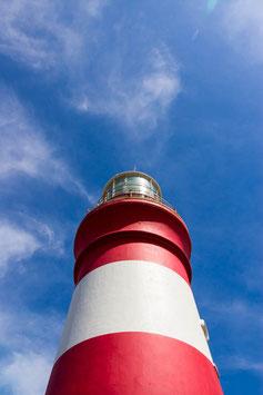 "FOTO-DRUCK auf ALU-DIBOND | Cape Agulhas Lighthouse 34°49'45.2""S 20°00'32.0""E"