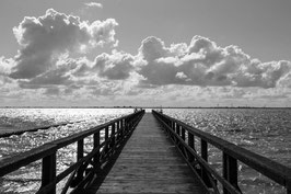 "FOTO-DRUCK auf ALU-DIBOND | Meerblick 54°30'28.8""N 8°59'50.6""E"