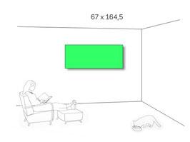 Nur HEUTE zum Sonderpreis: AFFITTO kompl. 67 cm Höhe, 164,5cm breit