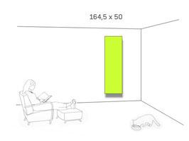 AFFITTO kompl. 164,5 cm Höhe, 7 Standardbreiten
