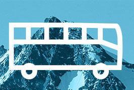Busticket: von Kals nach Kaprun | bitte Abfahrtszeit wählen