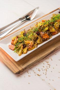 »Kochkurs vegane Kulinarik - richtig und vollwertig für Körper, Geist und Seele«