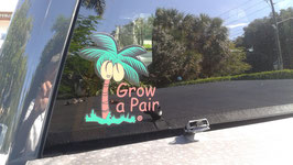Grow a Pair Vinyl Decals