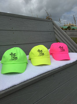 Neon Monochrome Beach Hats