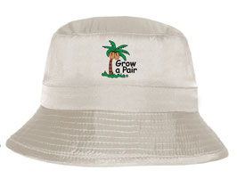 Grow a Pair Nylon Sun Protection 30+SPF Bucket  Hat