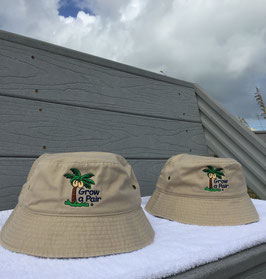 Grow a Pair Beach Bucket Safari Hat