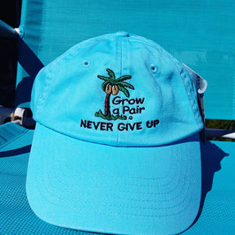"""Never Give Up"" and ""Make It Happen""  Motivational Hats"