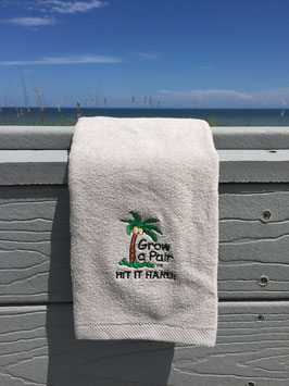Grow a Pair Golf Towels