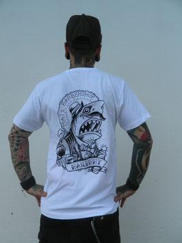 T-Shirts True Fellas HAIlight weiß