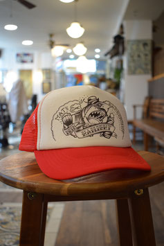 Trucker Cap True Fellas rot