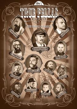 """Plakat """"The Beard Classics"""""""