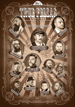"Plakat ""The Beard Classics"""