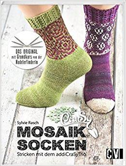 Mosaik Socken stricken von Sylvie Rasch