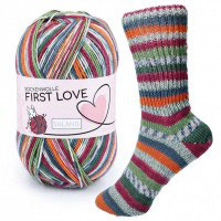 First Love Sockenwolle von Sylvie Rasch